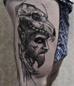 """19 ideias de tatuagens para os homens mais radicais19 258x300 - 18 ideias de tatuagens para os homens mais """"radicais"""""""