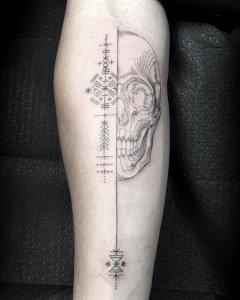 """19 ideias de tatuagens para os homens mais radicais4 240x300 - 18 ideias de tatuagens para os homens mais """"radicais"""""""