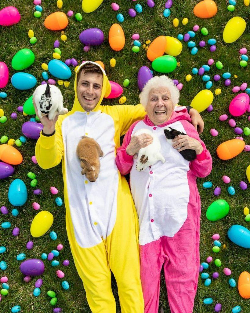 avo e neto conquistam as redes sociais com as fotografias mais hilariantes8 819x1024 - Avó e neto conquistam as redes sociais com as fotografias mais hilariantes