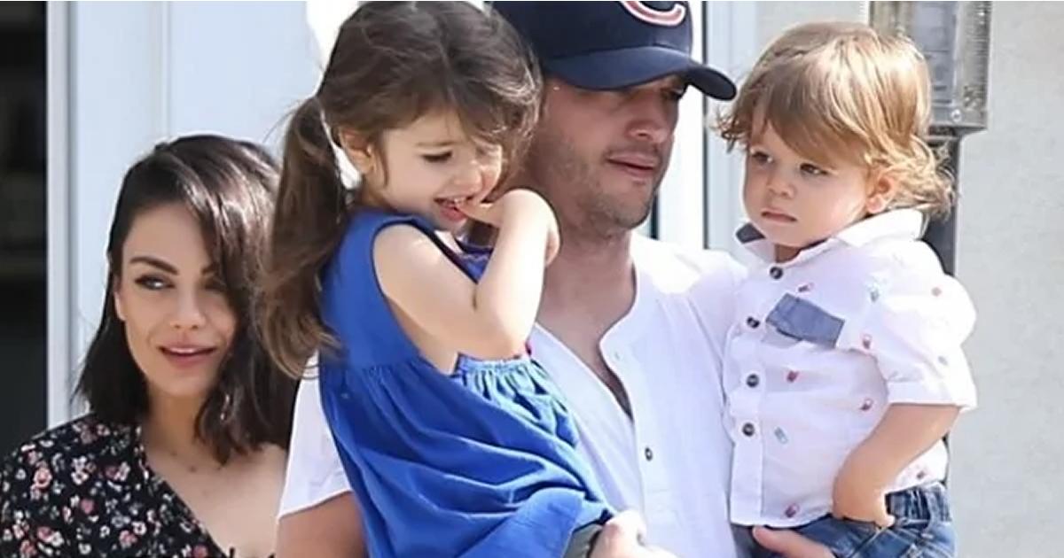 ashton kutcher e mila kunis dizem que nao dao banho nos filhos  - Ashton Kutcher e Mila Kunis dizem que não dão banho nos filhos todos os dias!